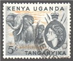 Kenya, Uganda and Tanganyika Scott 115 Used